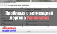 Проблема с активацией доргена PandoraBox || Как активировать PandoraBox