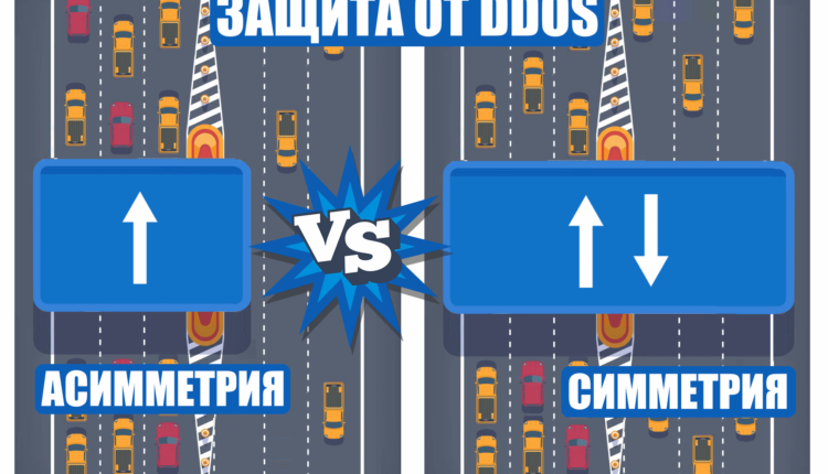 Симметричная и асимметричная защита от DDoS